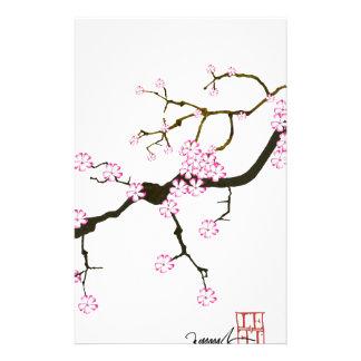 Fleur élégante 6 de Fernandes Sakura Papier À Lettre Customisé