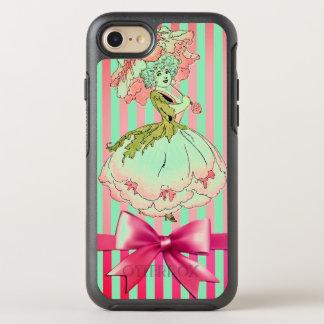 fleur-enfant-pivoine-rose coque otterbox symmetry pour iPhone 7