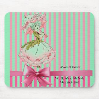 fleur-enfant-pivoine-rose tapis de souris