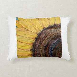 Fleur ensoleillée lumineuse coussins décoratifs