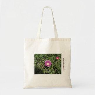 Fleur et abeille sacs en toile