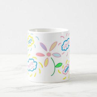Fleur et nuages mug