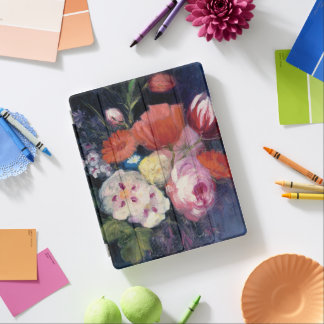 Fleur fraîche de ressort de coupe protection iPad