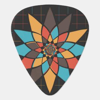 Fleur géométrique onglet de guitare