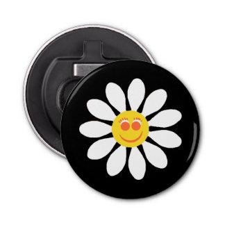 Fleur Girly de marguerite blanche de visage
