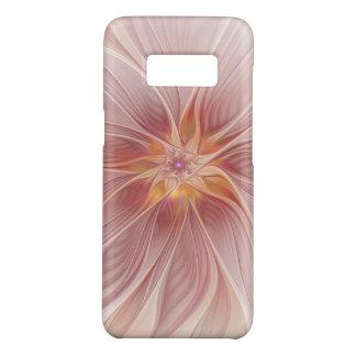 Fleur moderne d'abrégé sur floral rose mol rêve coque Case-Mate samsung galaxy s8