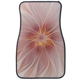Fleur moderne d'abrégé sur floral rose mol rêve tapis de voiture
