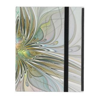 Fleur moderne d'art de fractale d'imaginaire coque iPad