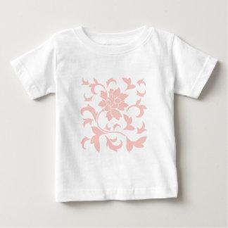 Fleur orientale - quartz rose t-shirt pour bébé