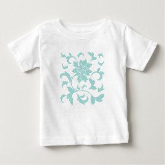 Fleur orientale - ventouse Shell T-shirt Pour Bébé