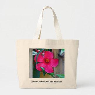 Fleur où vous êtes plantés ! Sac fourre-tout