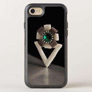 Fleur perlée coque otterbox symmetry pour iPhone 7