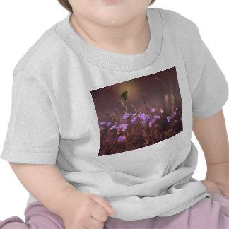 Fleur pourpre t-shirt