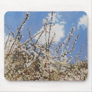 Fleur printanière 2012 tapis de souris
