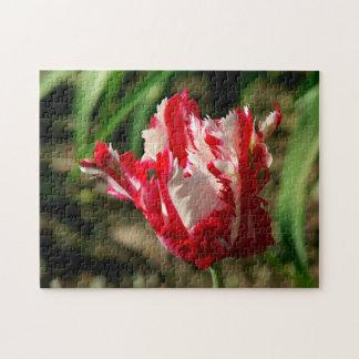 Fleur, puzzle de photo