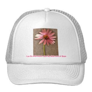 Fleur rose de cône - je suis mon aimé et mon aimé casquette