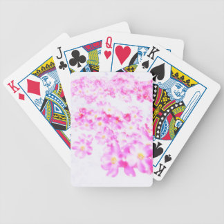 Fleur rose de cornouiller jeux de cartes