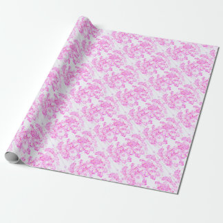 Fleur rose de cornouiller papiers cadeaux