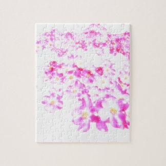 Fleur rose de cornouiller puzzle