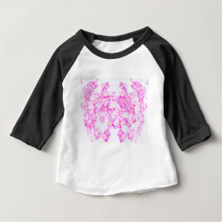 Fleur rose de cornouiller t-shirt pour bébé