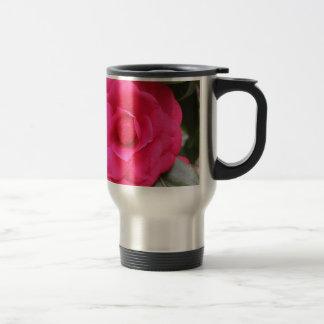 Fleur rouge de cognassier du Japon Rachele Odero Mug De Voyage