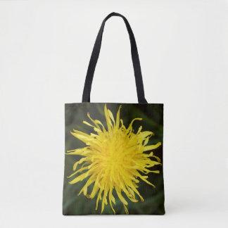 Fleur sauvage jaune de pissenlit sac