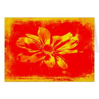 Fleur sauvage Noir-Eyed de Susan - art numérique Carte De Vœux