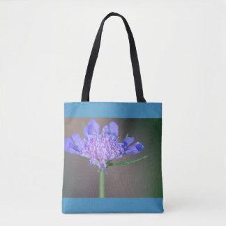 Fleur sauvage pourpre sac