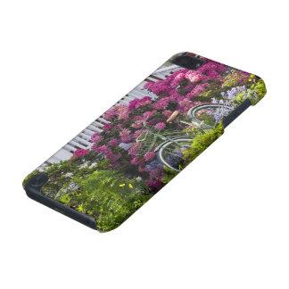 Fleur spectaculaire de ressort, antiquité lunatiqu coque iPod touch 5G