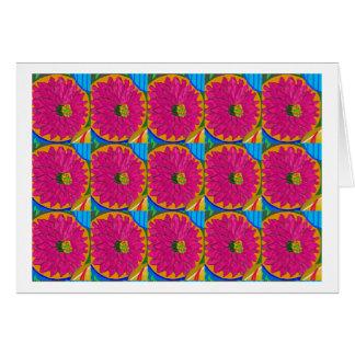 fleur UNIQUE d'artistique de fleur par NavinJOSHI Carte De Vœux