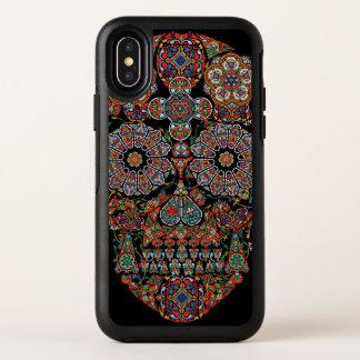 Fleurissez la caisse de l'iPhone X de symétrie