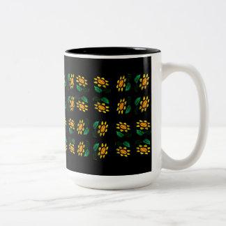 Fleurit 3 - Verre souillé - tasse