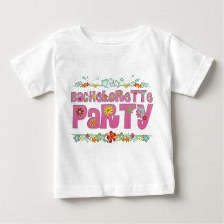 fleurit la partie hippie florale de bachelorette t-shirt