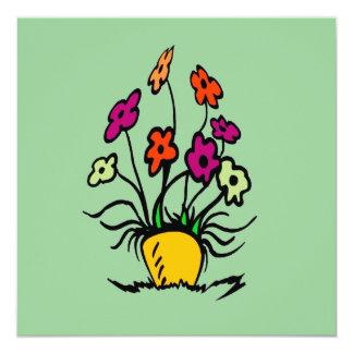 Fleurs abstraites
