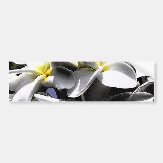 Fleurs artistiques de Plumeria Autocollant Pour Voiture