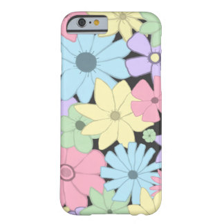 Fleurs assez en pastel coque iPhone 6 barely there