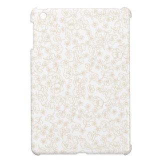 Fleurs blanches coques iPad mini