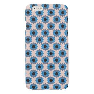 Fleurs bleues en pastel florales - coque iphone -