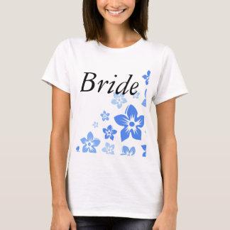 fleurs bleues t-shirt