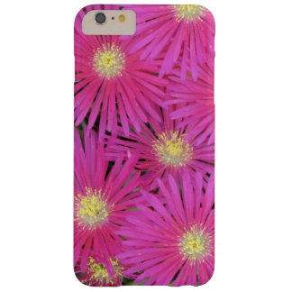 Fleurs centrées par jaune rose lumineux de cas de coque barely there iPhone 6 plus