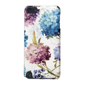 Fleurs colorées de ressort coque iPod touch 5G