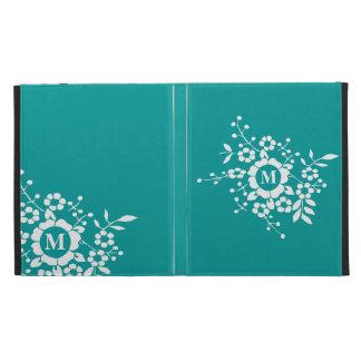 Fleurs coupées de papier • Monogramme Coque iPad