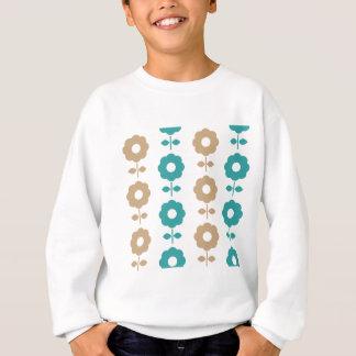 Fleurs créatives stupéfiantes folkloriques sweatshirt