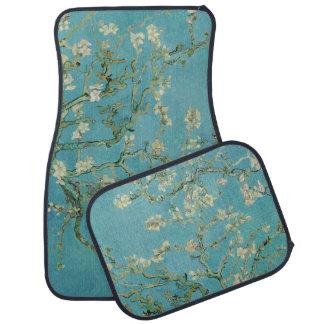 Fleurs d'amande par Vincent van Gogh Tapis De Voiture
