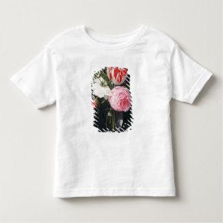 Fleurs dans un vase en verre t-shirt pour les tous petits