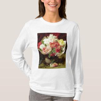 Fleurs dans un vase t-shirt
