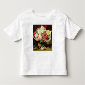 Fleurs dans un vase t-shirt pour les tous petits