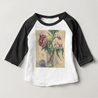 Fleurs dans un vase - Zacharie Astruc T-shirt Pour Bébé