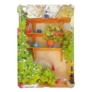 Fleurs d'aquarelle étui iPad mini