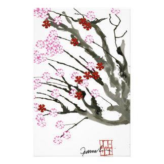 fleurs de cerisier 11 Fernandes élégant Papiers À Lettres